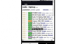 HipHop Radio List 0.1 Screenshot