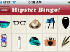 Hipster Bingo 1.0 Screenshot