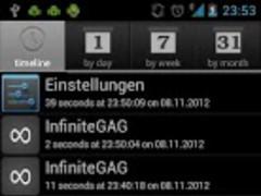 HistApp 1.2.1 Screenshot