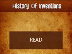 History of Inventions 1.0 Screenshot