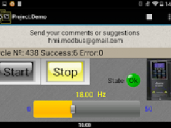 HMI Modbus TCP, Bluetooth Free 1.17 Screenshot