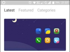 Review Screenshot - Launcher App – Change the Look and Feel of Your Phone's Screen