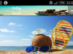 Holiday Search 1.0 Screenshot