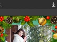 Holiday Xmas Picture Frame - Photo Frame Master 1.0 Screenshot