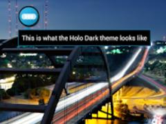 Holo Dark - FN Theme 1.0 Screenshot