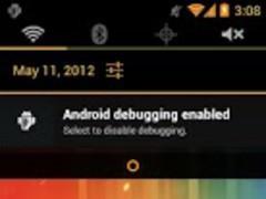 Holo Orange CM9 Theme 1.0.12 Screenshot