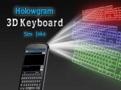 Hologram 3D Keyboard Sim Joke 1.9 Screenshot