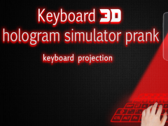 Hologram 3D keyboard simulated 1.4 Screenshot