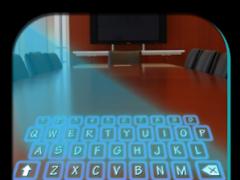 Hologram Glow Keyboard 1.7 Screenshot