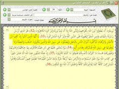 Holy Quran Viewer / Search Utlity 1.0 Screenshot
