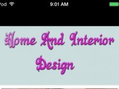 Home And Interior Design 1.0 Screenshot