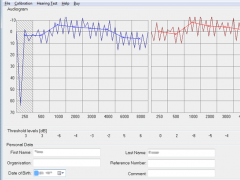 Home Audiometer Hearing Test 2.2 Screenshot