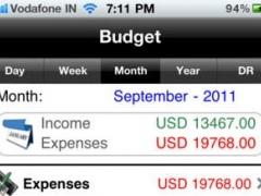 Home Budget Manager 1.1 Screenshot