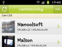 Home CCTV camWatchdog webcam 2.8.7 Screenshot