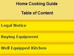 Home Cooking Guide 0.0.1 Screenshot