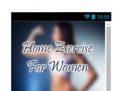 Home Exercise For Women Guide 2.0 Screenshot