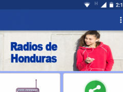 Honduras Radio Station 1.0 Screenshot