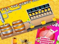 Honey Sweet Shop & Factory - Make frozen Ice Cream, milkshake & shortcake with cooking chef 1.0 Screenshot