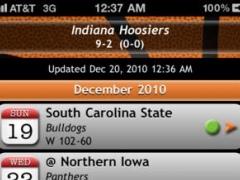 Hoops (Indiana schedule, roster & RSS reader) 2.1 Screenshot