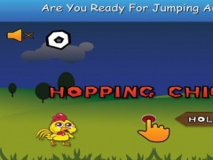 Hopping Chicken - Flying Escape of Angry Chicken with Tiny Floppy Air Wings 1.1 Screenshot