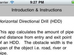 Horizontal Directional Drilling (HDD) 1.1 Screenshot