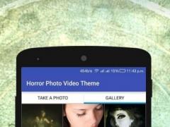Horror Photo Video Maker Music 1.0 Screenshot