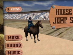 Horse Racing Jump Simulation 1.0 Screenshot