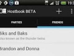 Hostbook BETA 0.2 Screenshot