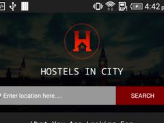 Hostels in city 2.2 Screenshot