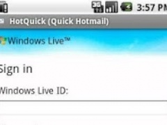 HotQuick (Quick Hotmail) 1.2 Screenshot