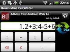 Hours Mins Calculator Free 1.0 Screenshot