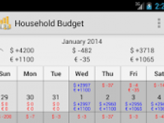 Household Budget Lite 3.8.6 Screenshot
