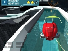 Hover Car Parking - Flying Car Hovercraft City Racing Simulator Game PRO 1.0.0 Screenshot