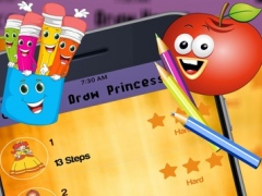 How to Draw a Princess 1.0 Screenshot