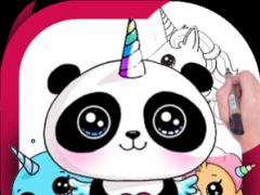 How To Draw Cute Unicorn 10 Screenshot