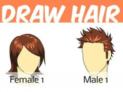 How to Draw Hair 1 Screenshot