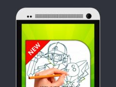 How to Draw Poke GO 1.0 Screenshot