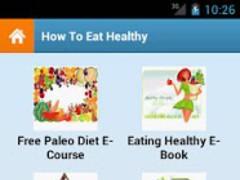 How To Eat Healthy! 1.0 Screenshot