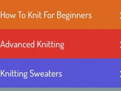 How To Knit - Learning Guide 1.1 Screenshot