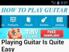 How To Play Guitar 1.0 Screenshot