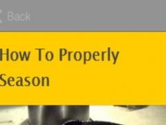 How To Season A Cast Iron Skillet 1.0 Screenshot