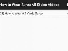 How to Wear Saree All Styles 1.0 Screenshot