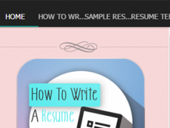 How To Write A Resume 2.3 Screenshot