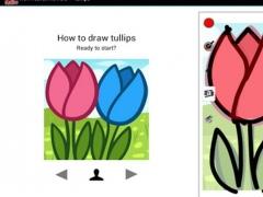 HowToDraw flowers 5.0 Screenshot