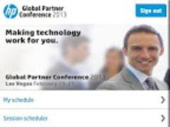 HP Global Partner Conference 1.2 Screenshot