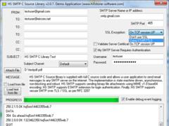 HS SMTP 2.0.14 Screenshot