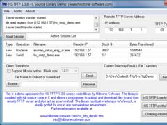HS TFTP C Source Library 1.3.8 Screenshot