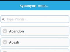 HSC Synonym Antonym 1.0.0 Screenshot