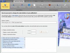 HTML Executable 4.7.1.0 Screenshot