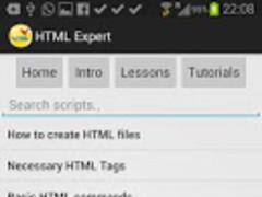 HTML Expert 1.0 Screenshot